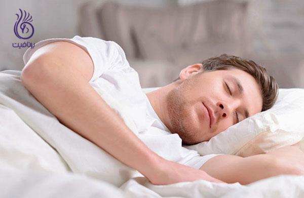 کوچک کردن شکم- خواب کافی- برنافیت