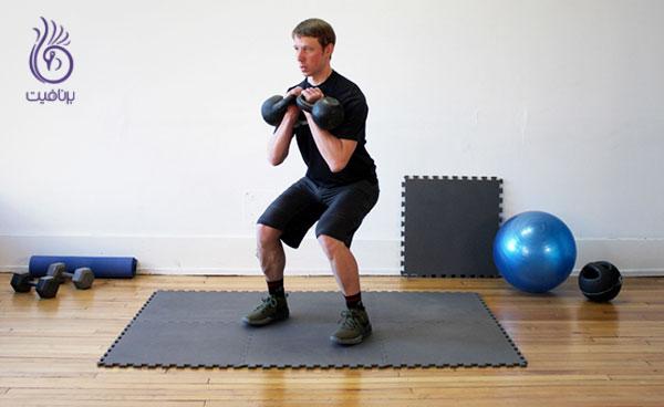 کوچک کردن شکم- تمرین های قدرتی- برنافیت