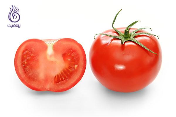 جوانسازی پوست- گوجه- برنافیت