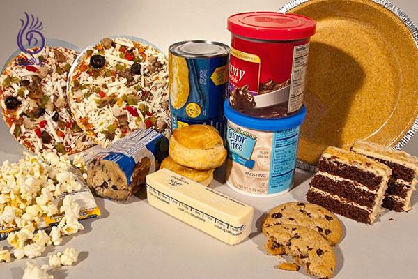 کوچک کردن شکم- کاهش مصرف چربی های ترانس- برنافیت
