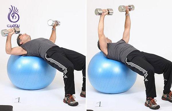 لاغری بازو- ورزش بازو- برنافیت