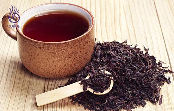 جلوگیری از سفید شدن مو- چای سیاه