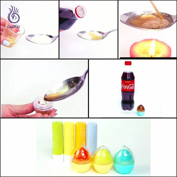 رژ لب خانگی- بالم معطر- برنافیت