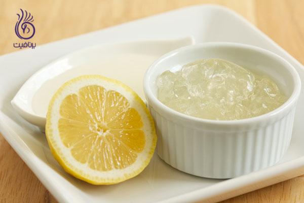 درمان موی چرب- آلوئه ورا با لیمو- برنافیت