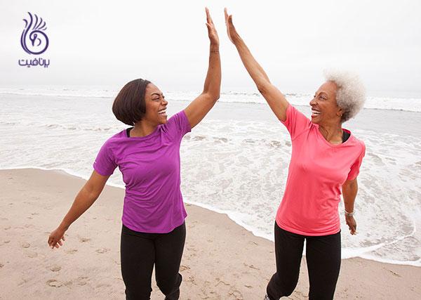انگیزه ورزش- شریک ورزشی- برنافیت