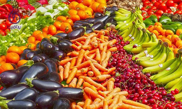 لاغری بازو- میوه ها و سبزیجات- برنافیت