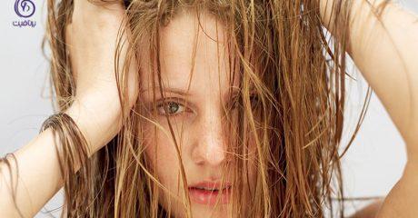درمان مو چرب- برنافیت