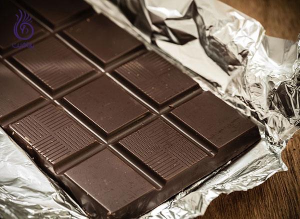 رژیم لاغری شکم- شکلات تلخ- برنافیت