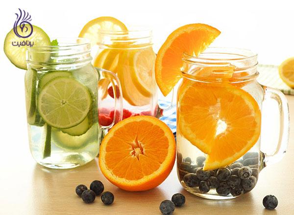 رژیم لاغری شکم- آب طعم دار- برنافیت