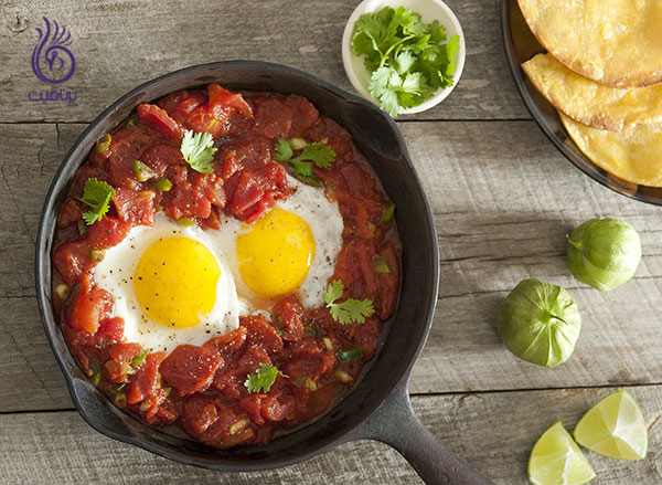 رژیم لاغری شکم- مصرف تخم مرغ- برنافیت