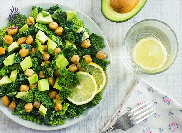 رژیم لاغری شکم- سبزیجات- برنافیت