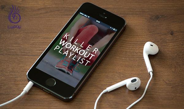 انگیزه ورزش- موسیقی ورزشی- برنافیت