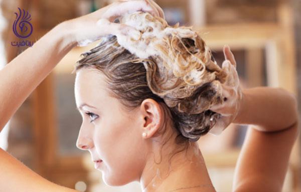 درمان موی چرب- شستن مکرر موها- برنافیت