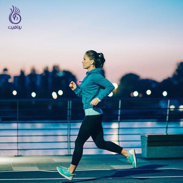 چاق شدن- ورزش دیر وقت- برنافیت