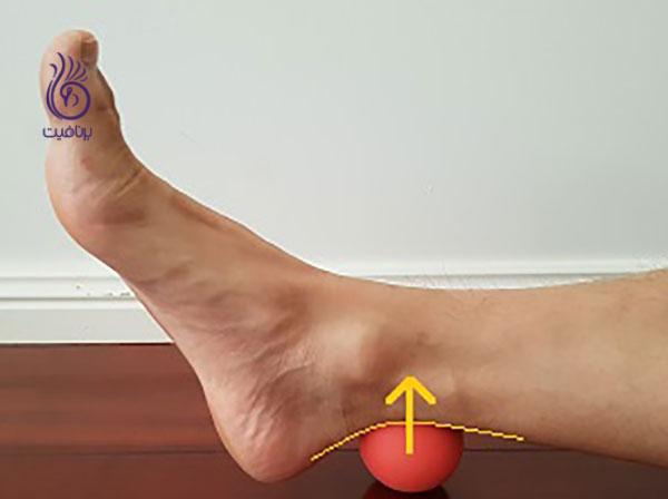 درمان کف پای صاف- achilles-release- برنافیت