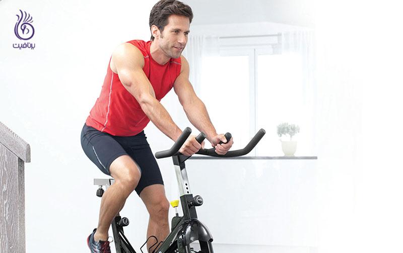 دوچرخه ثابت- ورزش- برنافیت