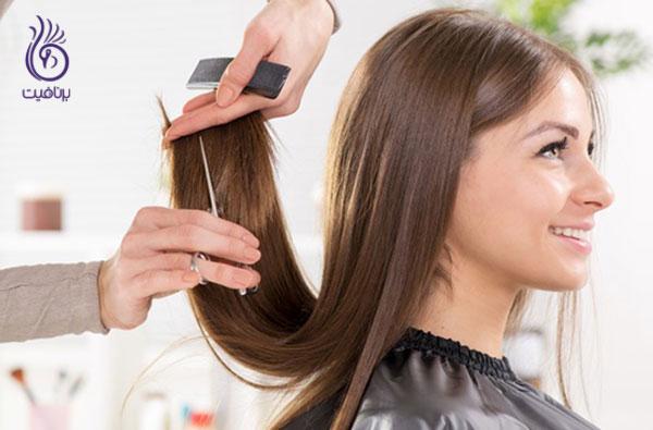 موخوره- کوتاه کردن مو- برنافیت
