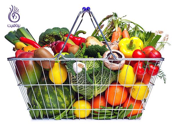 رژیم لاغری غذایی- سبزیجات- برنافیت