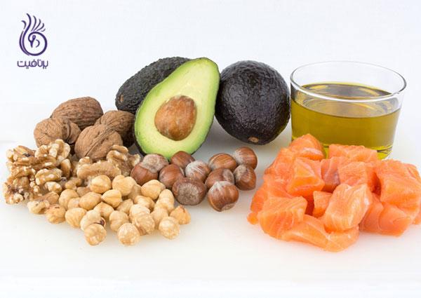 رژیم لاغری غذایی- چربی های سالم- برنافیت