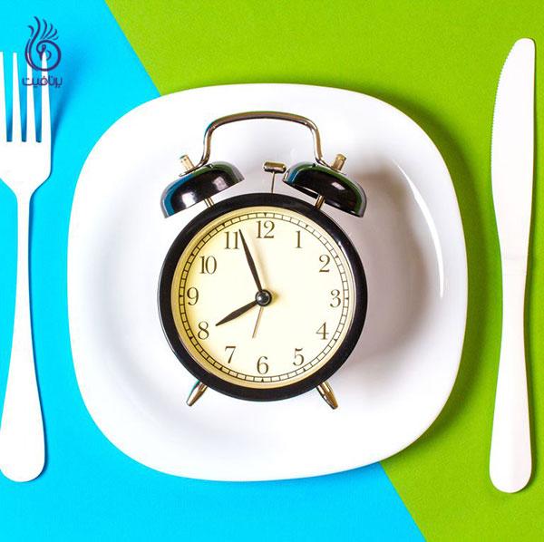 چاق شدن- شام نخوردن- برنافیت