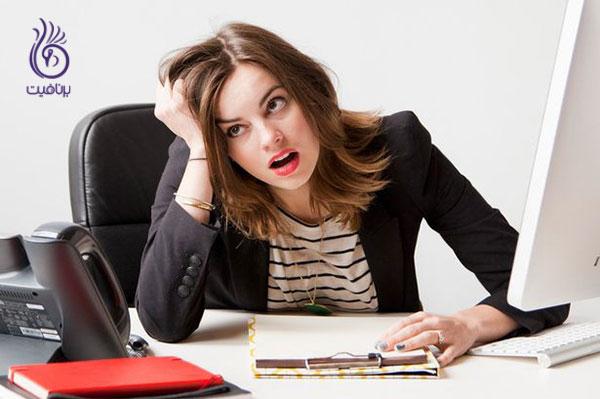 درمان موی چرب- کاهش استرس- برنافیت