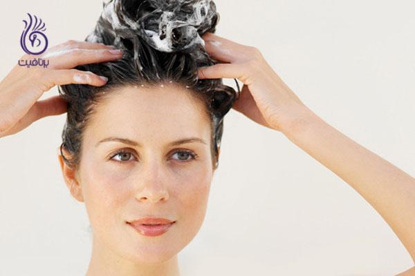 موخوره- شستن موها- برنافیت