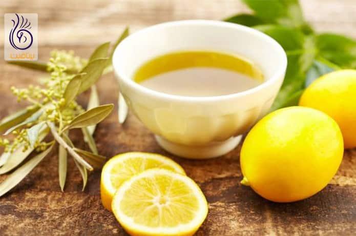 سفید کردن ران به همراه زیتون و لیمو