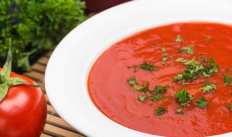 سوپ رژیمی- کاهش وزن- برنافیت