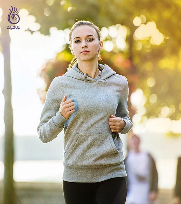 ورزش برای زنان- دویدن- برنافیت