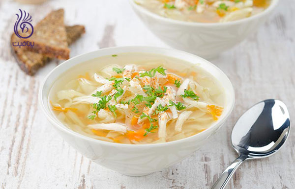 سوپ رژیمی- سوپ کلم- برنافیت