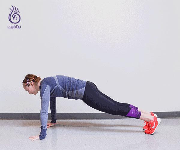 ورزش های شکم- plank- برنافیت