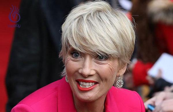 مدل مو برای خانم های مسن- چتری کامل- برنافیت