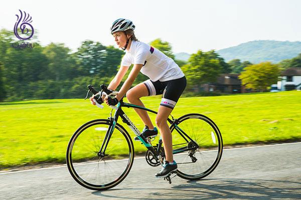 ورزش برای زنان- دوچرخه سواری- برنافیت