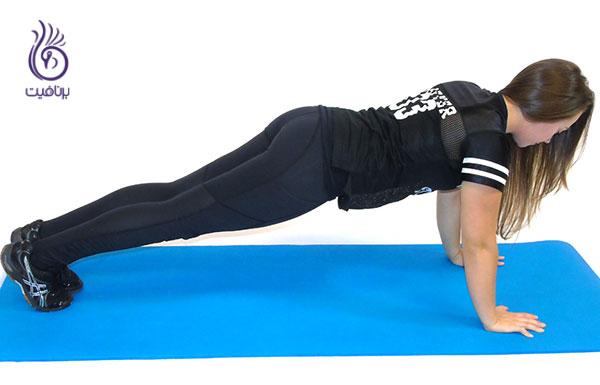 ورزش های شکم- Lateral-Plank-Walk- برنافیت