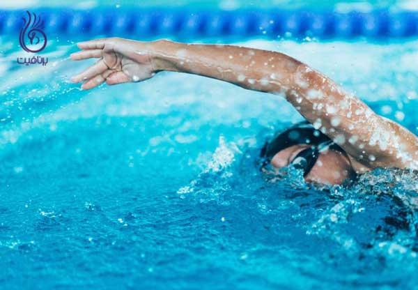 لیفت سینه- شنا - برنافیت