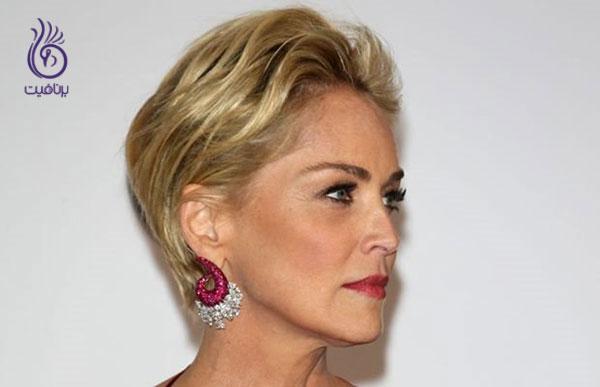 مدل مو برای خانم های مسن- برنافیت
