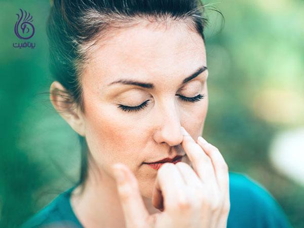 کوچک کردن بینی- تنفس- برنافیت