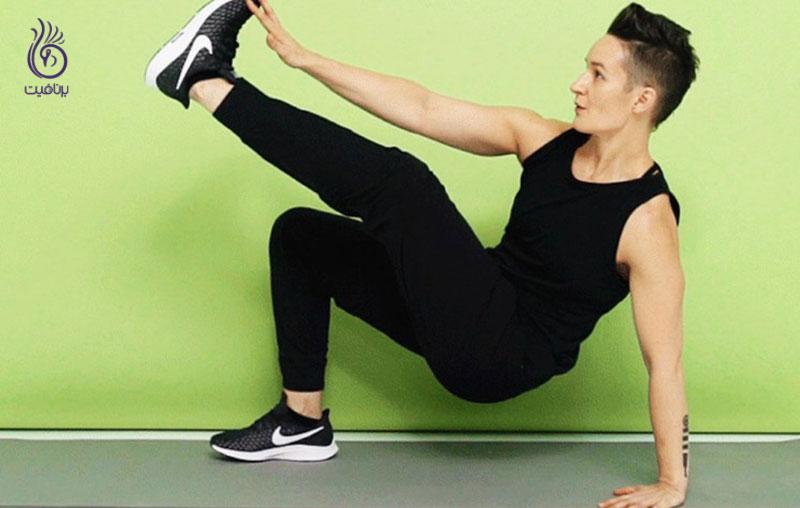 ورزش های شکم- برنافیت