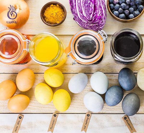 تخم مرغ رنگی- برنافیت