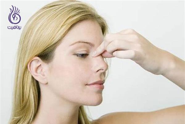 کوچک کردن بینی- ماساژ بینی- برنافیت
