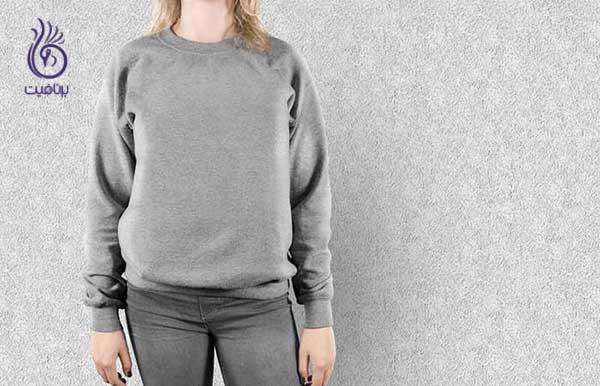 اشتباه در استایل- لباس سایز بزرگ- برنافیت