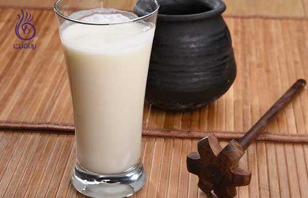 مرطوب کننده طبیعی- شیر و شیر کره- برنافیت