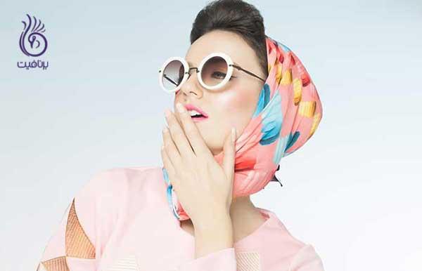 اشتباه در استایل- پیچیدن روسری به دور سر- برنافیت