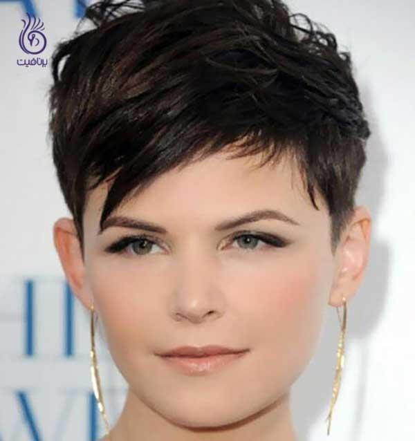 صورت گرد- مدل موی پیکسی- برنافیت
