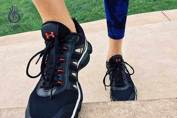 ترک پا- کفش نامناسب- برنافیت