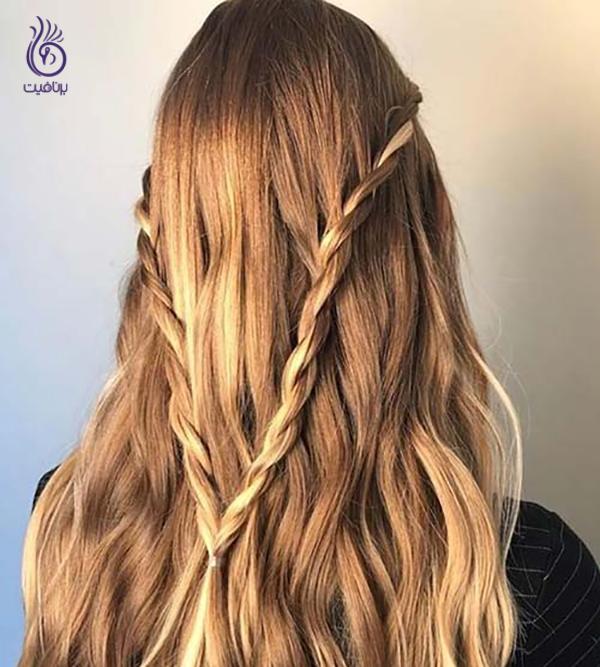 بافت مو آبشاری- برنافیت