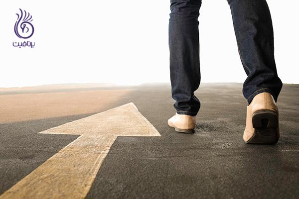 پیاده روی تند- قدم های کوچک- برنافیت
