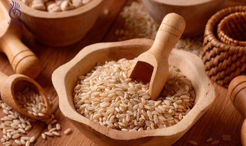 برنج قهوه ای- برنافیت