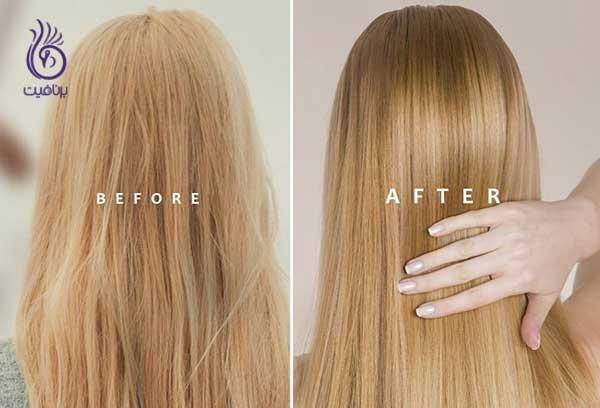صاف کردن مو- ماسک مو- برنافیت
