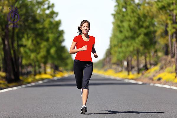 پیاده روی تند- نگاه کردن به جلو- برنافیت